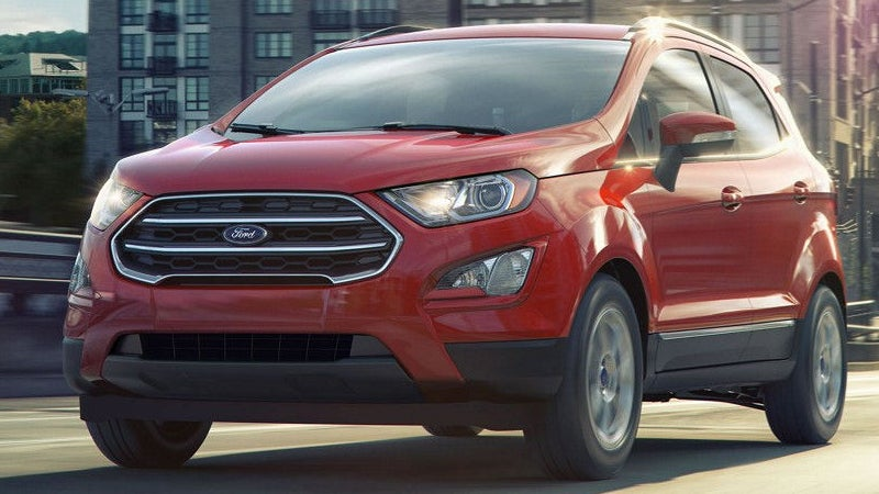 2018 Ford Ecosport Ford Ecosport In Tallmadge Oh Park Ford